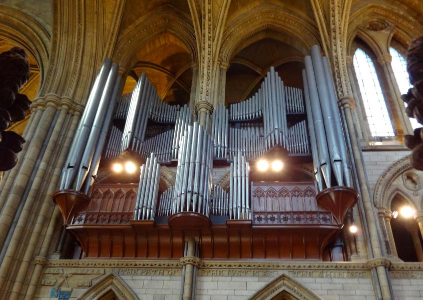 Truro Cathedral 'Father Willis' Organ